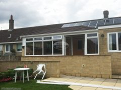 Replace conservatory roof with Equinox warm roof system