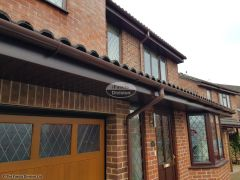 Full replacement fascias, soffits and guttering