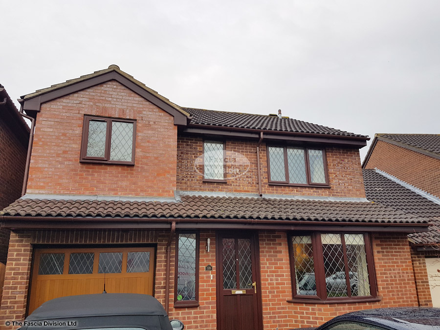 Guttering and fascia replacement