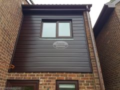 Replace cladding with UPVC cladding