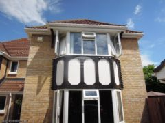 Replace fascia, soffit and guttering on a detached house in Verwood