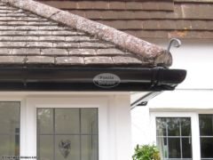 Replace guttering and fascia on a porch in Wimborne