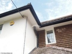 Replace soffit, fascia and guttering in Wimborne
