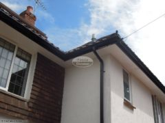 Replace soffit, fascia and guttering with UPVC in Wimborne