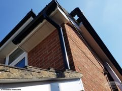 Fascias and guttering replacement New Milton