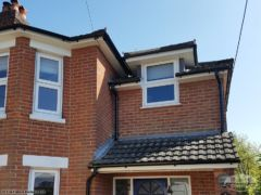 Installation of fascias and soffits New Milton